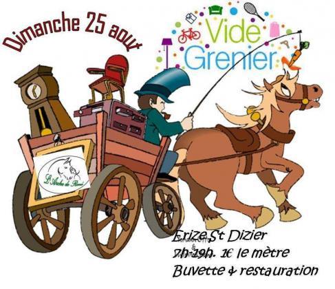 Vide-greniers - Erize-Saint-Dizier