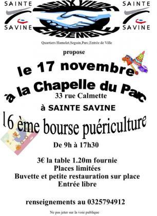 Bourse de puériculture de Sainte-Savine