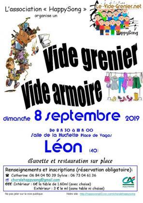 Vide-greniers de Léon
