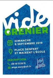 Vide-greniers de Saint-Maixent-l'Ecole