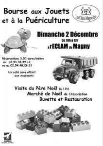 Bourse aux jouets - puériculture - Le Magny