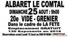 Vide-greniers - Albaret-le-Comtal