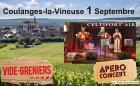 Vide-greniers de Coulanges-la-Vineuse