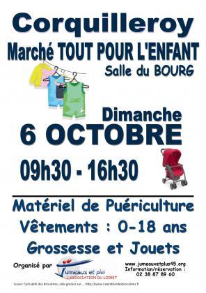 Marché Tout pour l'enfant de corquilleroy (45)