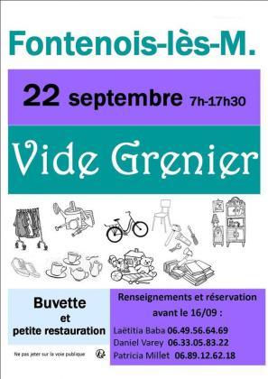 Vide-greniers de Fontenois-lès-Montbozon