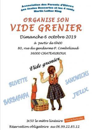 Vide-greniers de Châteauroux
