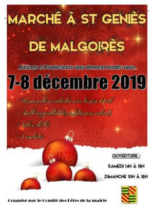 Grand marché de Noël de Saint-Geniès-de-Malgoirès