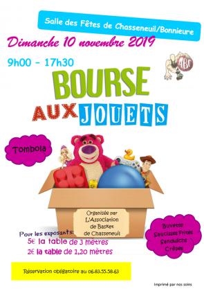 Bourse aux jouets de Chasseneuil-sur-Bonnieure