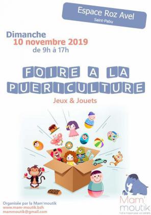Foire à la puériculture - jeux-jouets de Saint-Pabu