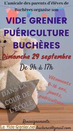 Vide grenier puériculture de Buchères