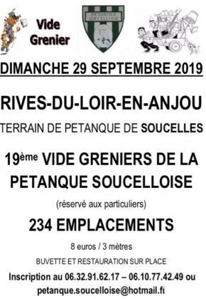 Vide-greniers de Rives-du-Loir-en-Anjou