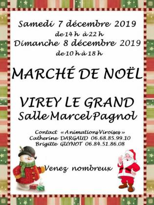 Marché de Noël de Virey-le-Grand