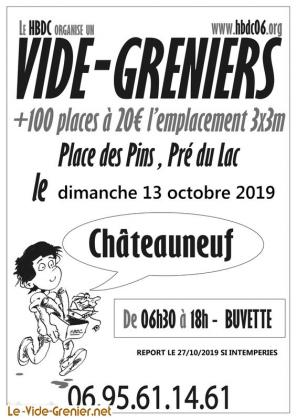 Vide-greniers de Châteauneuf-Grasse
