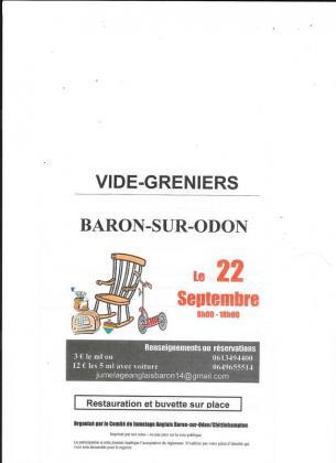 Vide-greniers de Baron-sur-Odon