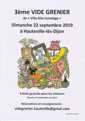 Vide-greniers - Hauteville-lès-Dijon