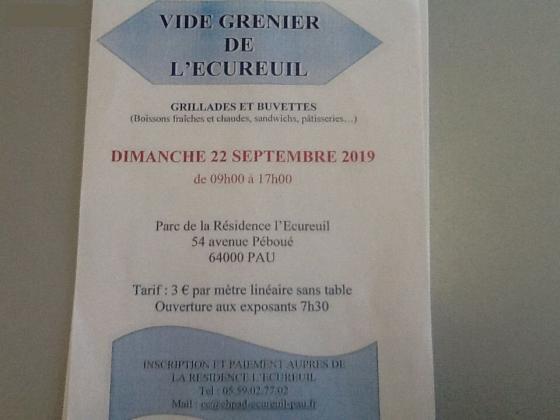 Vide-greniers de Pau