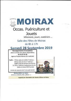Foire puériculture de Moirax