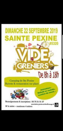 Vide-greniers de Sainte-Pexine