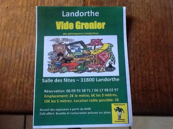 Vide-greniers de Landorthe