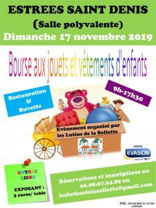 Bourse aux jouets et aux vêtements enfants - Estrées-Saint-Denis