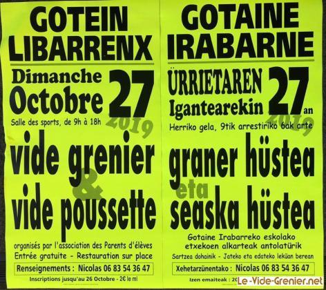 Vide-greniers de Gotein-Libarrenx
