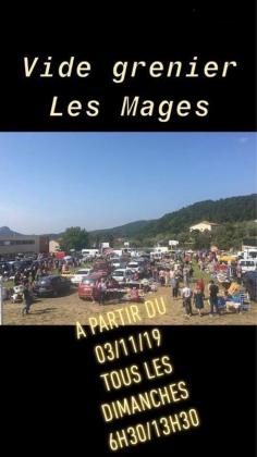 Vide-greniers - Les Mages