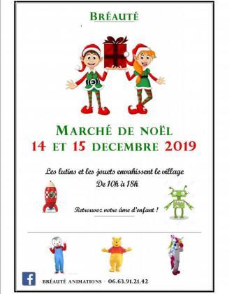Marché de Noël à Bréauté