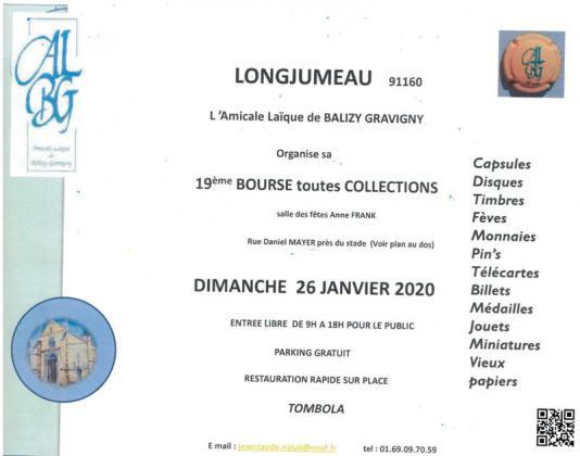 Bourse multi-collections de Longjumeau