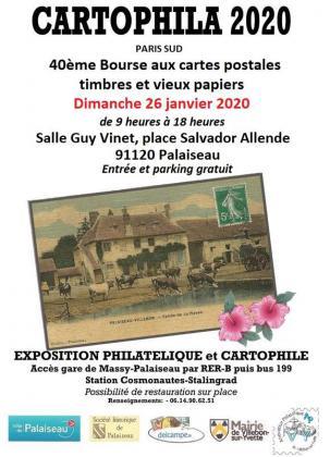 Bourse aux cartes postales et vieux papiers de Palaiseau