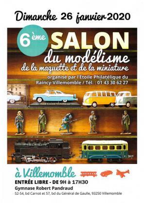 Salon Maquette, Modélisme et Miniatures de Villemomble