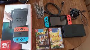 Nintendo Switch 200 Euros .