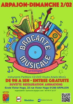BROCANTE MUSICALE ET ARTISTIQUE