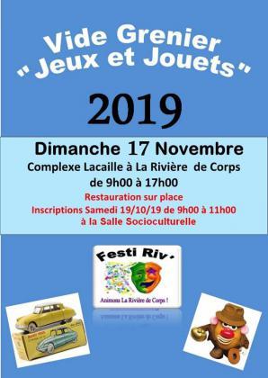 Spécial Jeux et Jouets de La Rivière-de-Corps