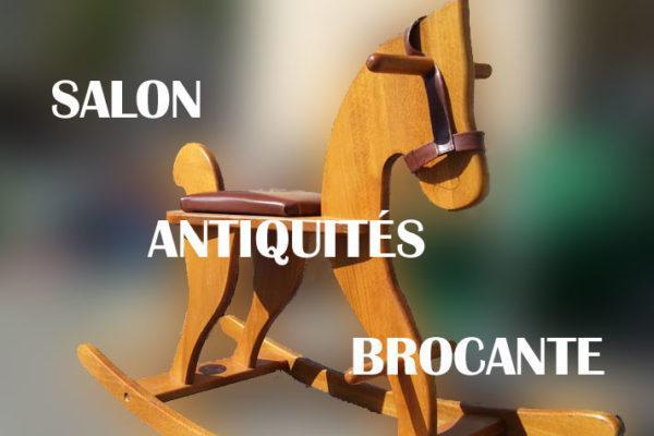 Salon Antiquités Brocante de Segré-en-Anjou Bleu