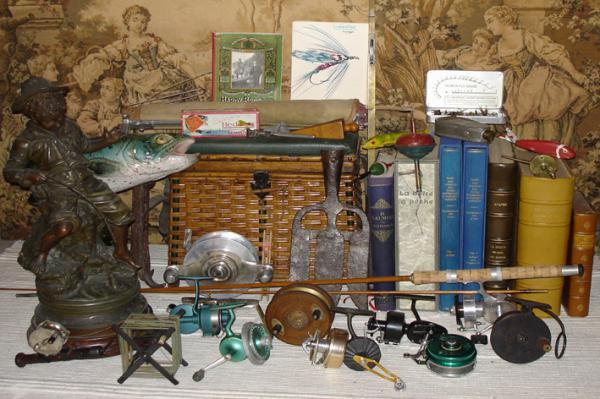 Trocante de matériel de pêche à Laignes