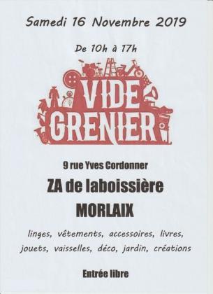 Vide-greniers de Morlaix