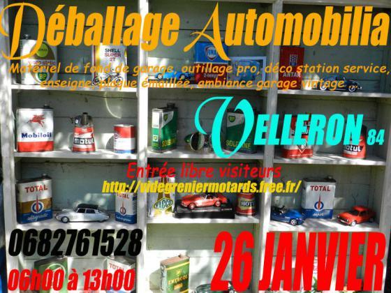 Déballage Automobilia de Velleron