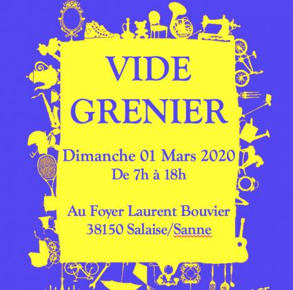 Vide-greniers de Salaise-sur-Sanne