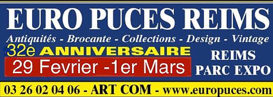 Euro puces de Reims
