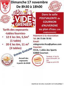 Vide-greniers de Cournon-d'Auvergne