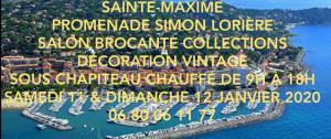 Salon brocante collections de Sainte-Maxime
