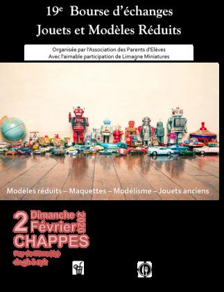 Bourse d'échange jouets et modèles réduits de Chappes