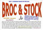 Braderie Broc et stocks de Pruniers