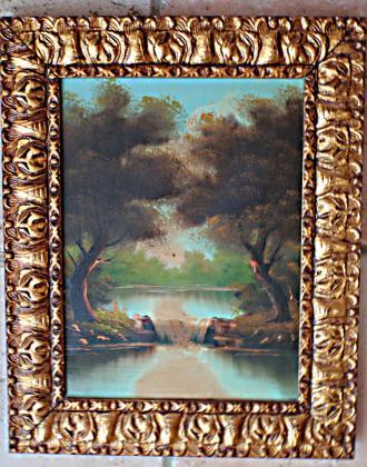 Deux tableaux paysages bucoliques