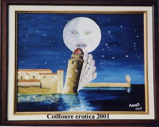 Tableau Emile Ramis Collioure érotique