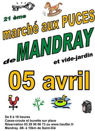 Vide-greniers de Mandray