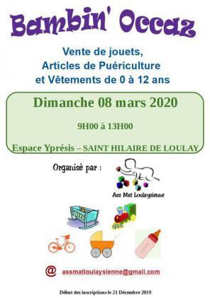 Bambin Occaz de Saint-Hilaire-de-Loulay
