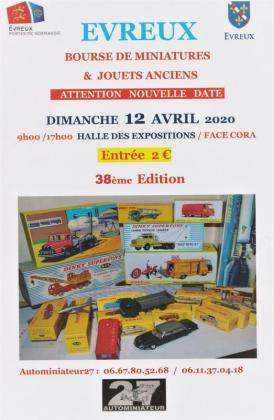 Bourse d'echanges de miniatures et jouets anciens - Évreux