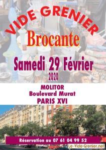 Brocante Vide-greniers Paris 16