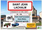 Foire neuf-occasion auto-moto de Saint-Jean-Lachalm